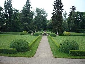 Buchlovice Castle - Image: Zamek Buchlovice park