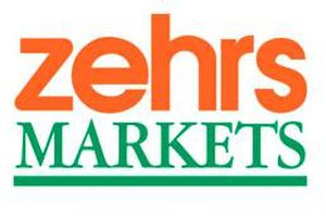 "Zehrs Markets - Old Zehrs Markets logo; the Zehrs Food Plus logo was the same, only with ""Food Plus"" replacing ""Markets"" in the same font.  This logo can still be seen at some stores."