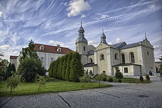Wieruszów Place in Łódź Voivodeship, Poland