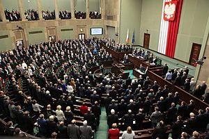 National Assembly (Poland) - National Assembly in session