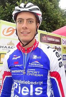Tim Ariesen Dutch cyclist