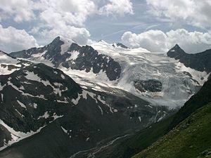 Stubai Alps - Zuckerhütl