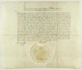 Zygmunt II August król polski poleca władzom celnym, aby wzięły pod uwagę skargi winiarzy poznańskich.png