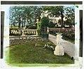 """Drumthwacket,"" Moses Taylor Pyne house, 354 Stockton Road, Princeton, New Jersey. Sundial LCCN2008677534.jpg"