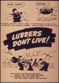 """""""Lubbers don't live - Oh heave a sigh for gun crew eight Oh heave a sigh for lookout Jones"""" - NARA - 514931.tif"""