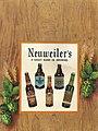 """Neuweiler's A GREAT NAME IN BREWING"" menu ad, from- 1945 - Neuweiler Brewery - Beer Menu - Allentown PA (cropped).jpg"