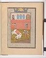 """Rustam Slays the White Elephant"", Folio from a Shahnama (Book of Kings) MET DP215871.jpg"