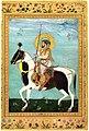 """Shah Jahan on Horseback"", Folio from the Shah Jahan Album MET CAT 40r6 89C.jpg"