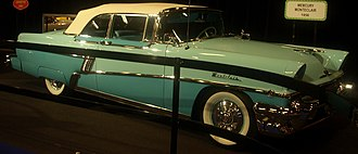 Mercury Montclair - Image: '56 Mercury Montclair Convertible (MIAS)