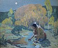 'Autumn Moon' by E. Irving Couse, 1927.jpg