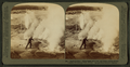 'Black Growler', whose steam kills trees, and whose roaring startles tourists, Yellowstone Park, U.S.A, by Underwood & Underwood 2.png