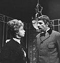 'De levensgezellin', toneelstuk TV, links Annie de Lange rechts Ton Lensink, Bestanddeelnr 918-6224.jpg