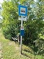 'Kunszentmiklós, vasúti átjáró' bus stop, 2019 Kunszentmiklós.jpg