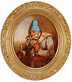 'The Trapper', oil painting by Cornelius Krieghoff.jpg