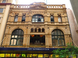Pitt Street - Image: (1) City Tattersals Club