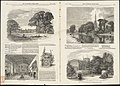 (Illustrations of Charlecote Hall, Church of the Holy Trinity, and New Place) (28004023615).jpg