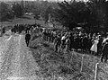 (Large procession of people on a rural road) (AM 81509-1).jpg