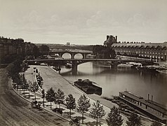 Édouard Baldus, Pont Royal and Louvre - NYPL Digital Collections.jpg