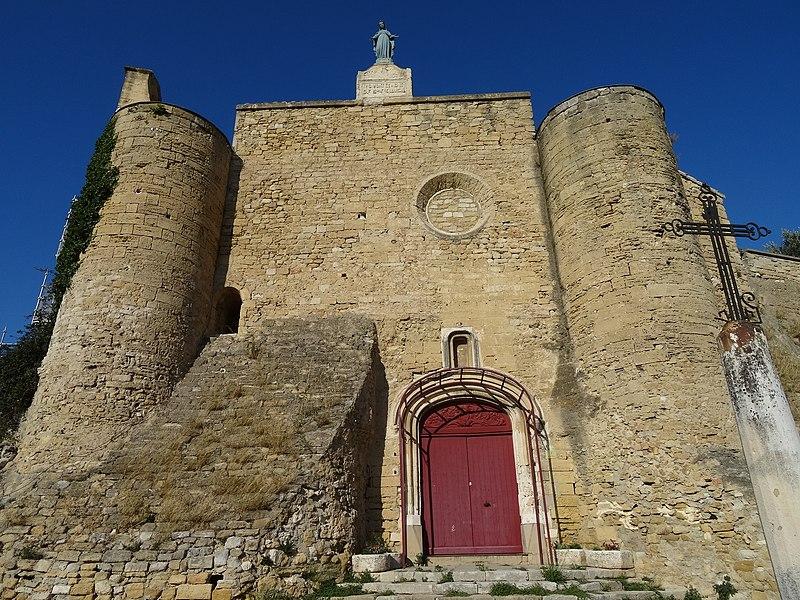 Église Notre-Dame-de-Beauvoir (Inscrit) Le portail