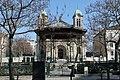 Église Saint-Jacques-et-Saint-Christophe de la Villette et square de la place de Bitche 02.jpg