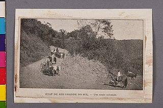 État de Rio Grande do Sul - Une Route Coloniale