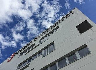 Örebro University - Image: Örebro University