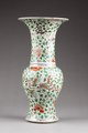 Östasiatisk keramik. Vas, Qing-dynastin, Kangxi - Hallwylska museet - 95932.tif