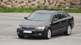 Škoda Superb - 2013 facelift