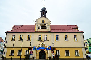 Żary Place in Lubusz, Poland