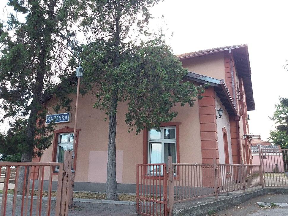 Železnička stanica, Smederevska Palanka 01