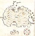 Χάρτης της νήσου Βις (Κροατία) - Millo Antonio - 1582-1591.jpg