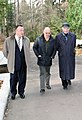 Александр Стручков, Андрей Черномырдин, Валерий Ганичев. 21 октября 2012 г. Переделкино.jpg
