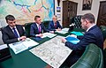Встреча главы Росавтодора Романа Старовойта и главы Кемерова Ильи Середюка.jpg
