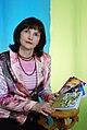 Дяків Оксана Іванівна - українська поетеса, письменниця, журналіст, редактор.JPG