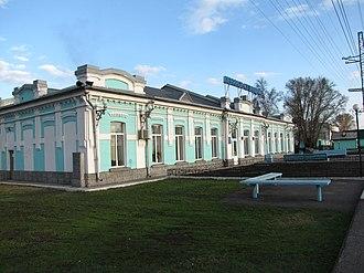 Leninsk-Kuznetsky (city) - Railway station