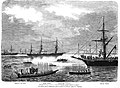 Клипер Яхонт на открытии Суэцкого канала, 17 ноября 1869 года.jpg