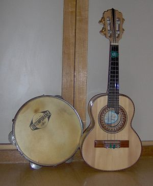 Samba - Pandeiro and cavaco, the nucleus of common samba instrumentation