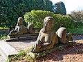 Парк Олеського замку.Скульптури.JPG