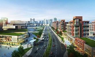 Urbanism - A modern large-scale urban development in Kazan, Russia