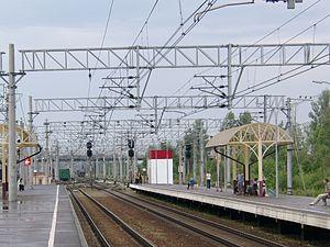 Tosno - Tosno railway station