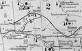 Фрагмент карти Науменка, 1914 рік, із позначенням рудника Файнштейна (№ 63).png