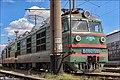 Электровоз ВЛ80К-599 на запасных путях ТЧ-4 Жмеринка. - panoramio.jpg