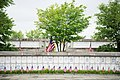 """""""Flags in"""" with The Old Guard in Arlington National Cemetery (17951874401).jpg"""