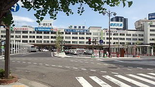 Niigata Station Railway station in Niigata, Japan