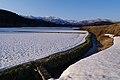 堰と神室連峰 A Small Cannel ^ Kamuro Mountain Range - panoramio.jpg