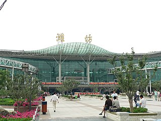 Weifang railway station
