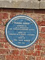 -2019-04-23 Blue plaque, Torre Abbey, Torquay, Devon.JPG