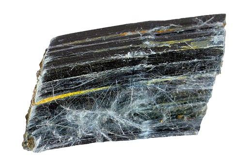 00054 3 cm crocidolite riebeckite