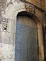 022 Església de l'Assumpció, al Pla de Santa Maria, portal lateral.jpg