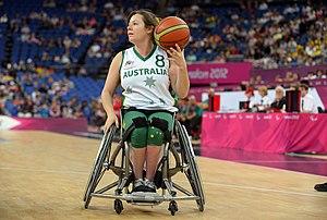 Tina McKenzie - McKenzie at the 2012 London Paralympics